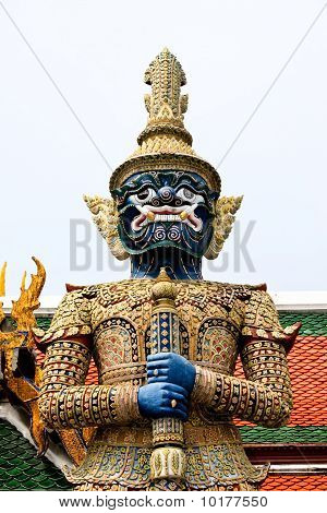 Giant Statue Of Thailand.