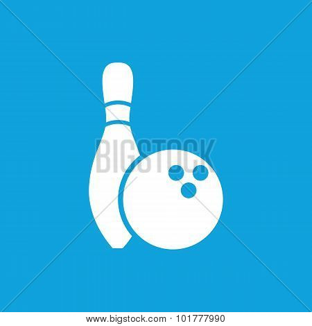 Bowling icon 2, simple