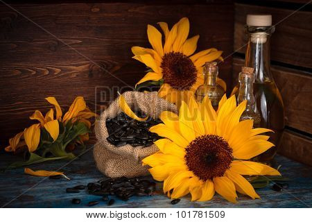 Sunflowers.