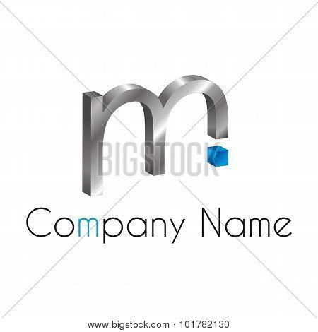Letter Logo M