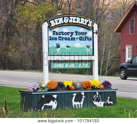 Ben & Jerry's Ice Cream Factory, Vermont, USA