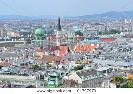 Top-view Of Vienna