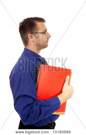 Nerdy Geek Carry Books