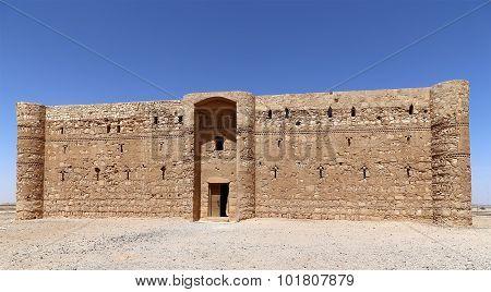 Qasr Kharana (kharanah Or Harrana), The Desert Castle In Eastern Jordan (100 Km Of Amman)