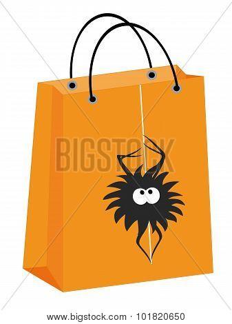 Halloween Spider Bag