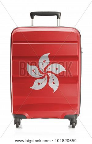 Suitcase With National Flag Series - Hong Kong