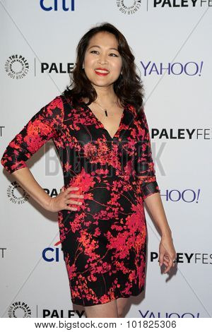 LOS ANGELES - SEP 12:  Suzy Nakamura at the PaleyFest 2015 Fall TV Preview - ABC at the Paley Center For Media on September 12, 2015 in Beverly Hills, CA