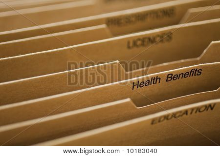 Cardboard Filing System Health Benefits