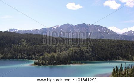 A Mountain Lake in Yukon Territories
