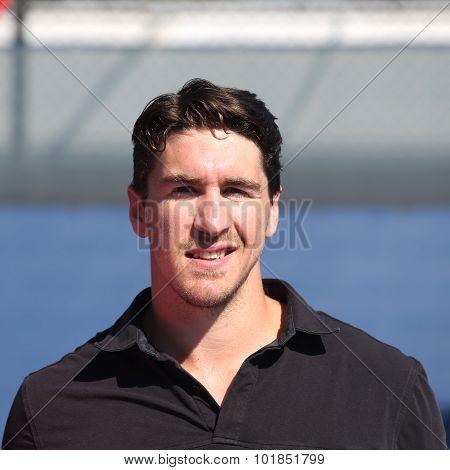 New York Rangers captain Ryan McDonald hosts youth tennis exhibition at US Open 2015