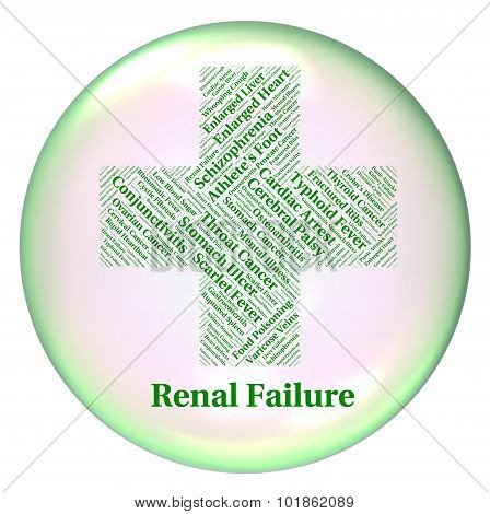 Renal Failure Shows Lack Of Success And Complaint