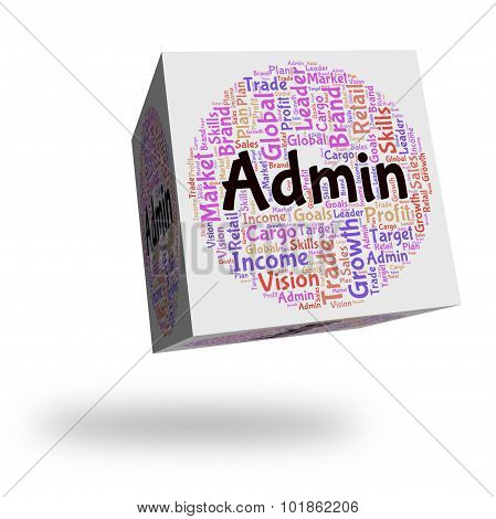 Admin Word Means Management Administering And Administration