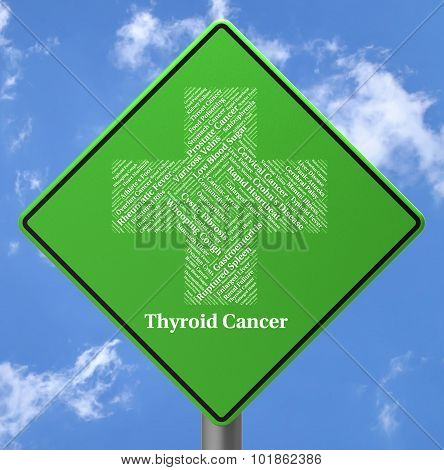 Thyroid Cancer Represents Endocrine Gland And Afflictions