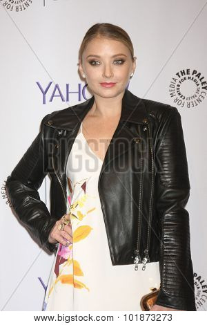 LOS ANGELES - SEP 16:  Elisabeth Harnois at the PaleyFest 2015 Fall TV Preview -