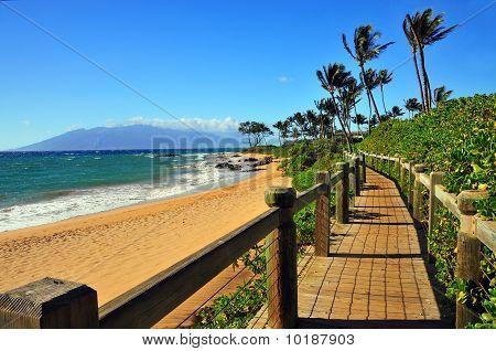 Wailea Beach Walkway, Maui Hawaii