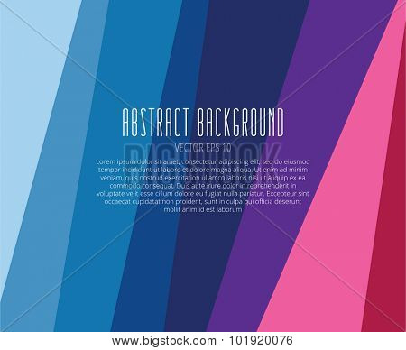 Abstract background vector wallpaper. Strips, tile and laser lines. Stock vector illustration.