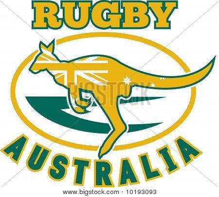 kangaroo wallaby rugby Australia