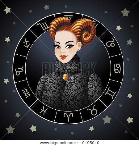 Aries. Zodiac sign