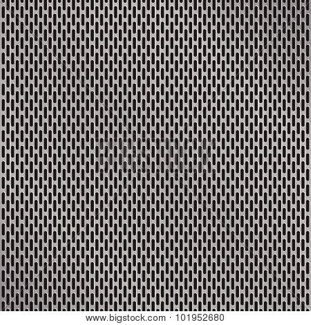 Aluminum Grate Background Vector
