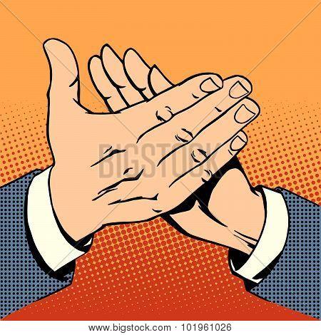 hands applause success bravo