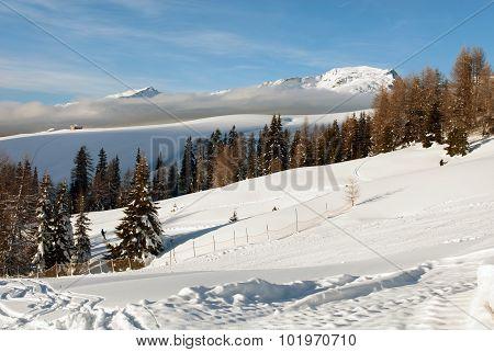 Alpine Scene, The Dolomites, Northern Italy