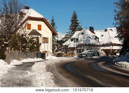 Alpine Houses, Northern Italy