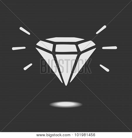 Vector Diamond Symbol