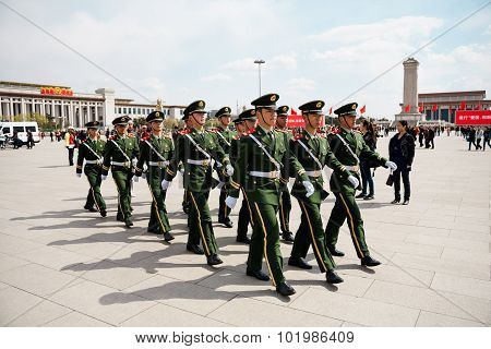 The Chinese Soldiers