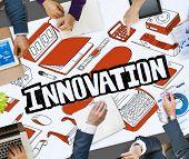 Innovation Future Improvement Technology Modernization Concept poster