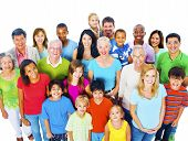 Community Variation Diverse Ethnic Unity Friends Concept poster