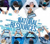 Natural Resources Conservation Environmental Ecology Concept poster
