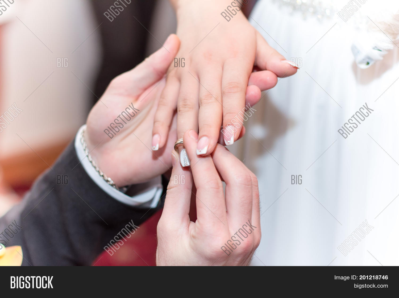 Groom Puts Wedding Image & Photo (Free Trial) | Bigstock