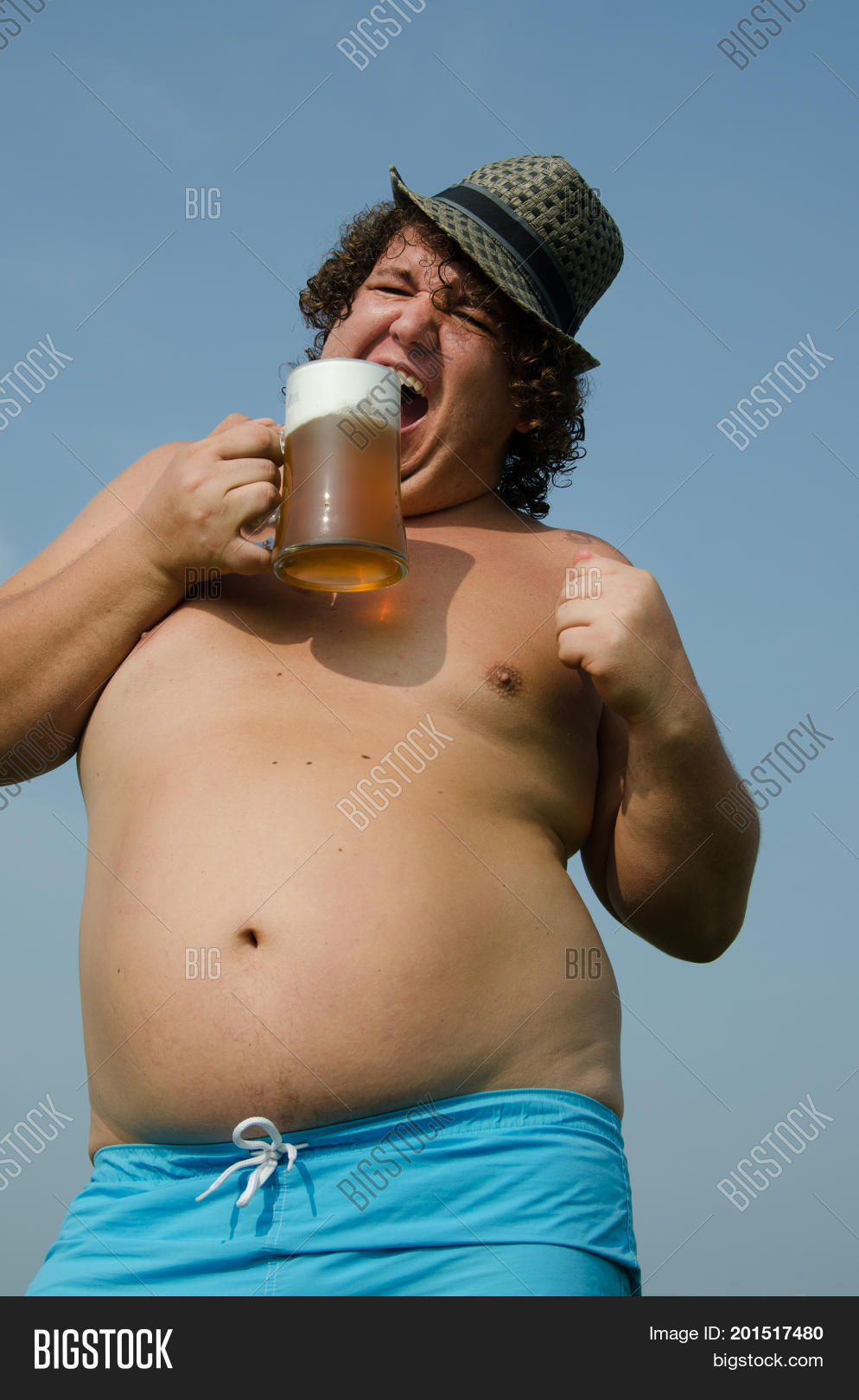 Party Drunk Man Beer Image Photo Free Trial Bigstock