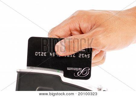 Pagando por um crédito
