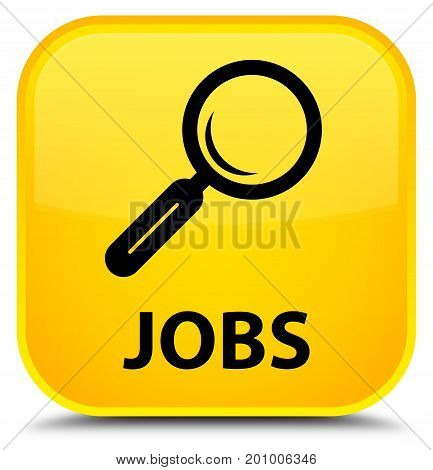 Jobs Special Yellow Square Button