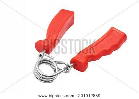sport hand expander isolated on white background.