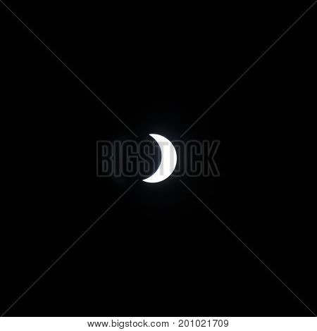 Solar Eclipse of the sun during the August 21, 2017 eclipse in the United States.