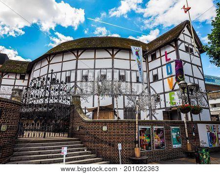 Globe Theatre In London (hdr)