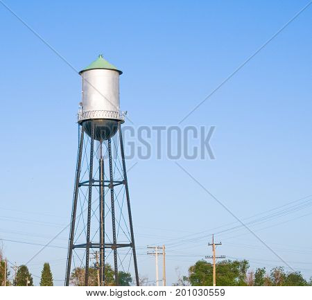 Water supply tower for a small rural farm cummunity in central Colorado.