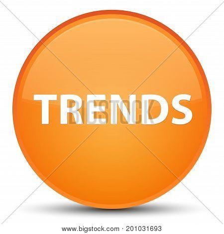 Trends Special Orange Round Button