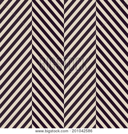 vintage Black and white herringbone fabric seamless pattern, vector