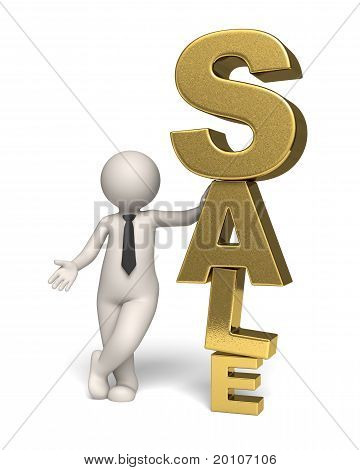 Gold Sale Icon