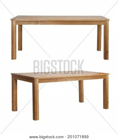 Wooden Brown Rustic Table Desk