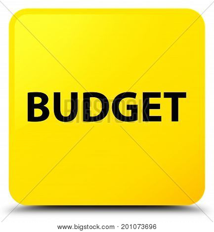 Budget Yellow Square Button