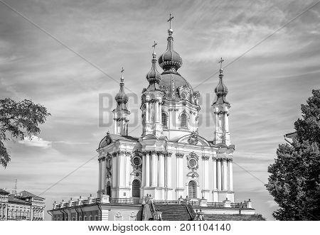 Andriyivskyy Church  In Kiev