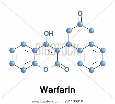 Warfarin is a medication that is used as an anticoagulant a blood thinner