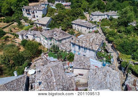 Dilofo Of Zagorochoria, Epirus, Western Greece