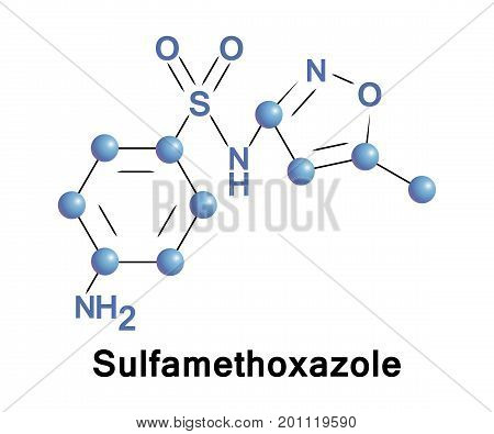 Sulfamethoxazole is an antibiotic is used for bacterial infections of urinary tract bronchitis prostatitis and is effective against both gram negative and positive bacteria