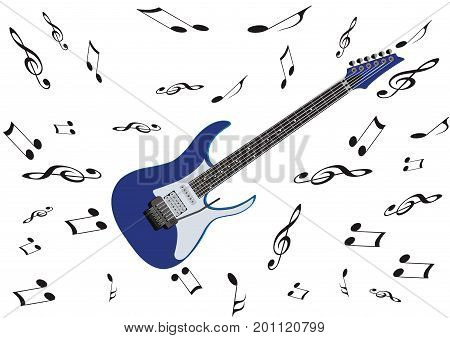Electric guitar musical instrument Electric guitar musical instrument