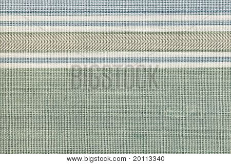 Lined green fabric texture background, high resolution poster